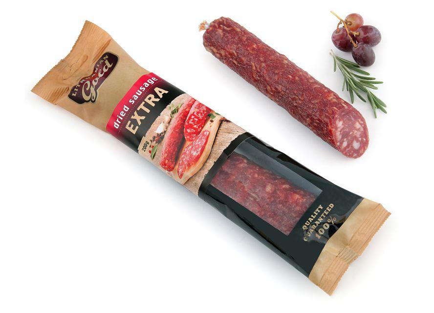 Extra dried sausage