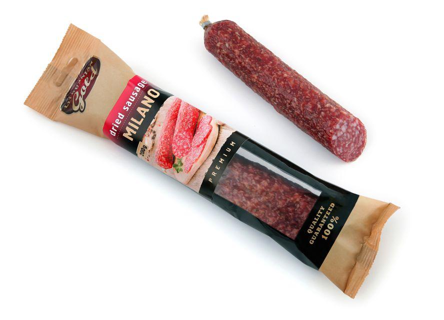 Dried milano sausage