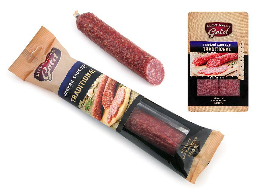 Traditional smoked sausage